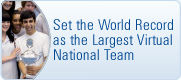 Set The World Record As The Biggest Virtual National Team